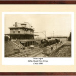 Belle Mead Train Depot 1890