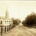 Early 20th century view along Harlingen Rd